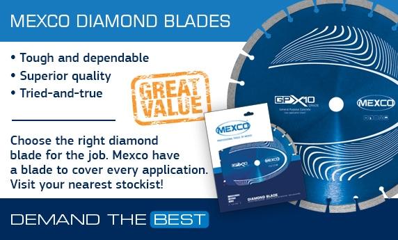 Mexco Diamond Blades & Cores